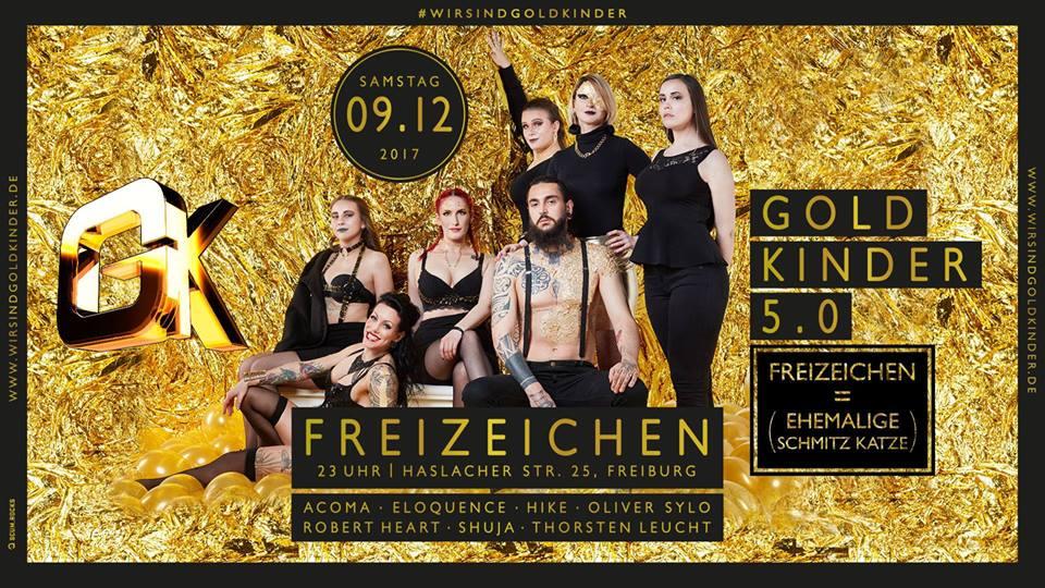 Goldkinder 5.0 | Samstag, 09.12.17