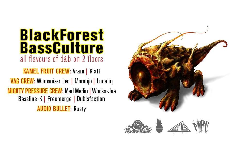BlackForest BassCulture | Freitag, 15.12.17
