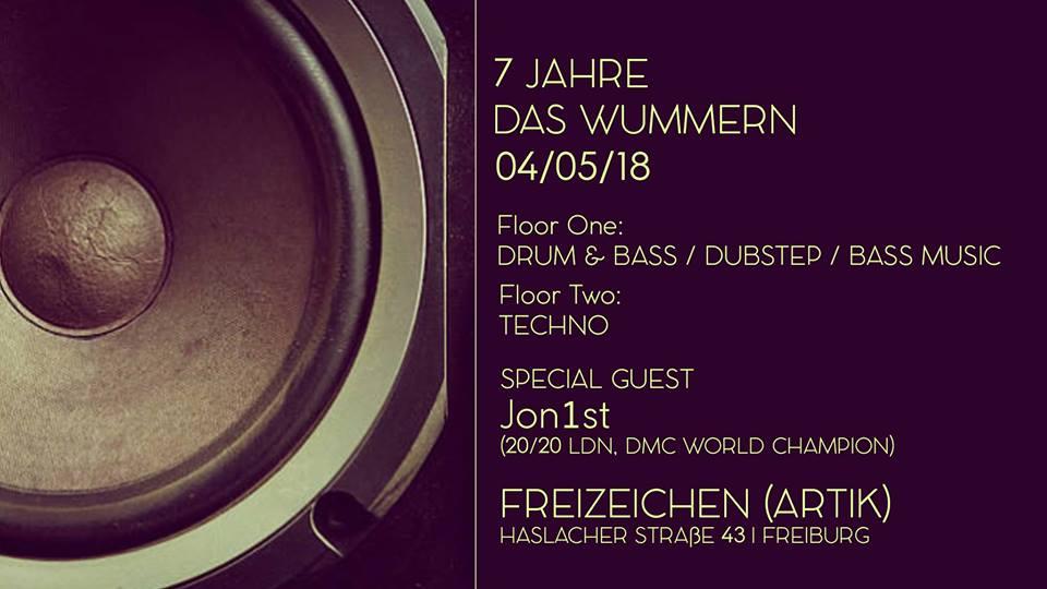 7 Jahre Das Wummern || Freitag, 04.05.18
