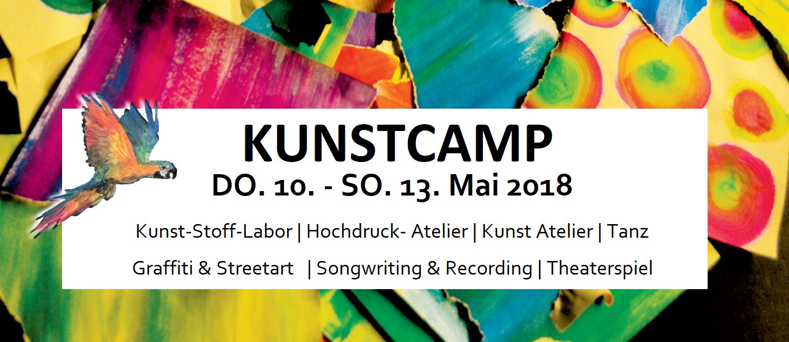 KunstCamp @ Jugendkunstparkour || 10.05.-13.05.18