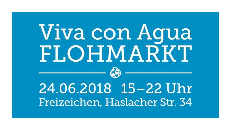Viva con Agua Flohmarkt || Sonntag, 24.06.18