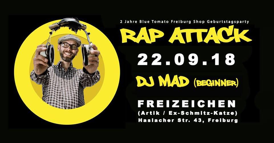 Rap Attack mit DJ MAD (Beginner) || Samstag, 22.09.18