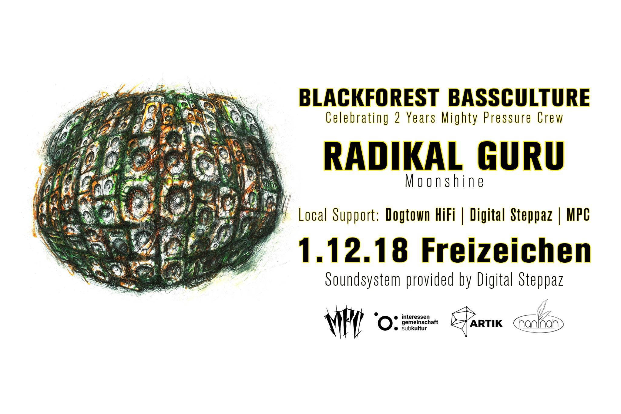 Blackforest Bassculture w/ Radikal Guru || 1.12.18