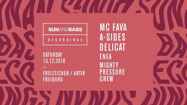 Sun and Bass Rec. Labelnight Freiburg || 15.12.18