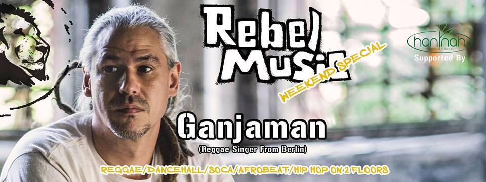 Rebel Music Weekend Special (Ganjaman Reggae Singer Berlin) || 30.3.19