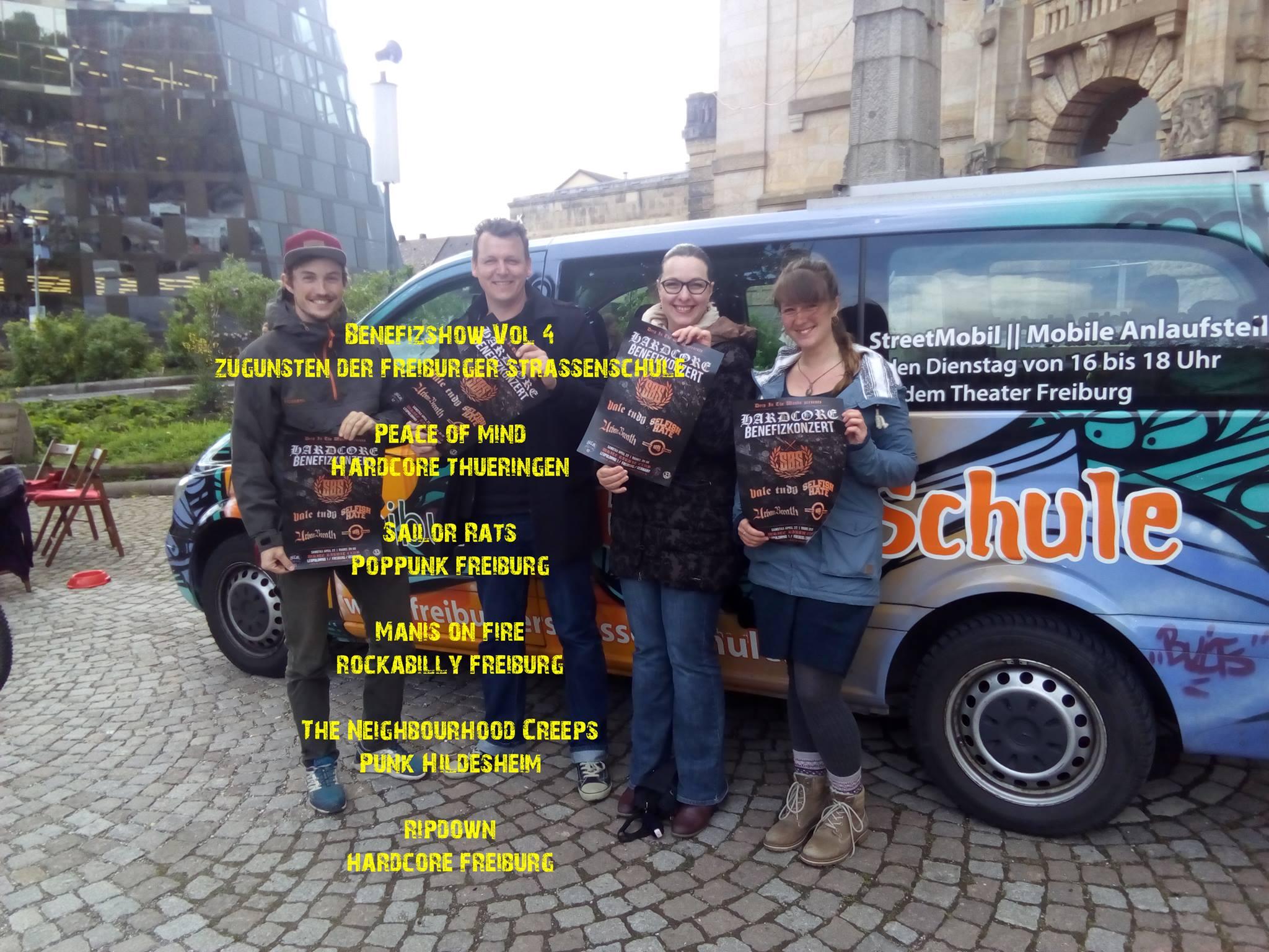 Benefizkonzert für die Freiburger Straßenschule    11.5.19