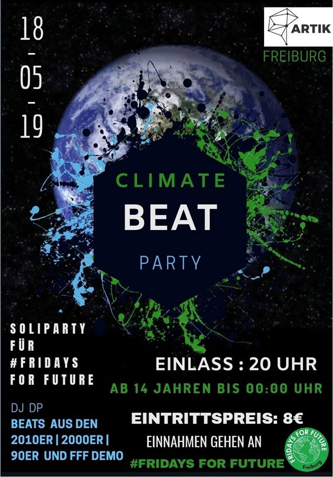 FfF SoliParty – Climate Beat || 18.5.19